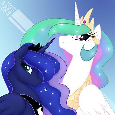 MLP Celestia X Luna - part 9