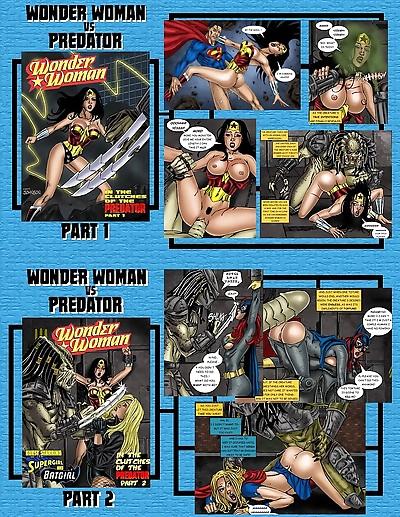 Wonder Woman vs Predator