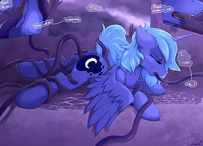 Princess Luna Tentacle Rape