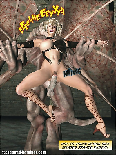 Captured Heroines- Dana..