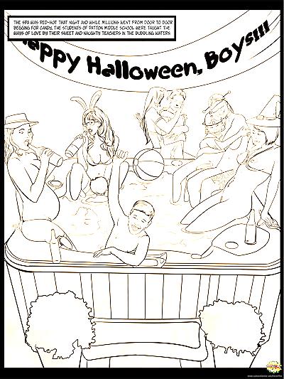 Halloween Sex Party