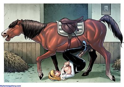 Spider-Gwen - Luv Horses