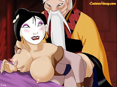 Belle enjoys getting naked..