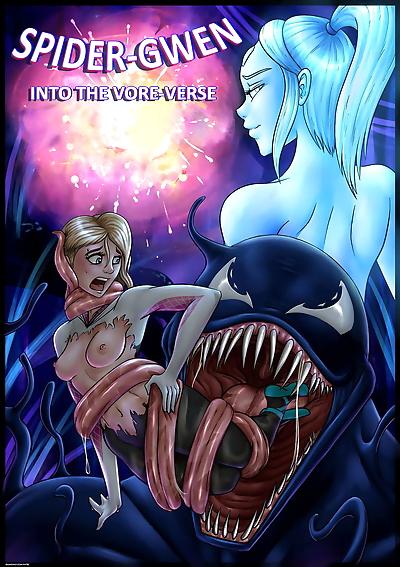 Spider Gwen- Into the Vore..