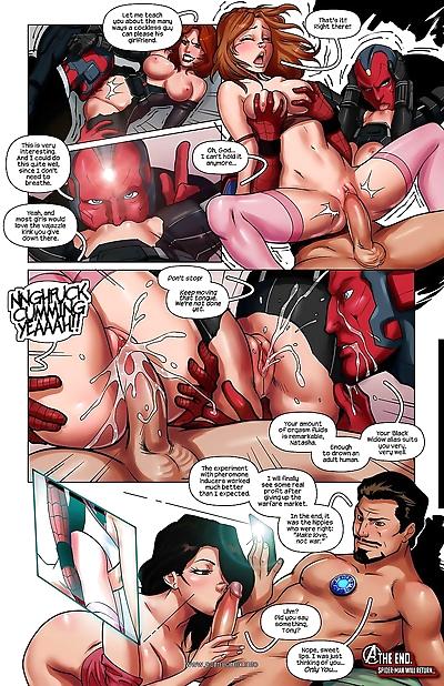 Spiderman Civil War- Tracy..