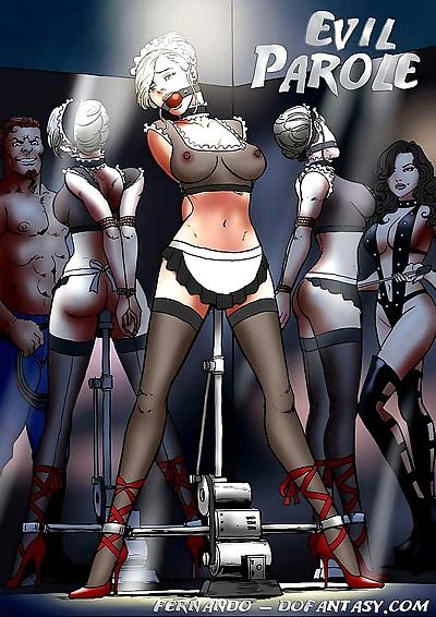 BDSM Bondage Evil Parole