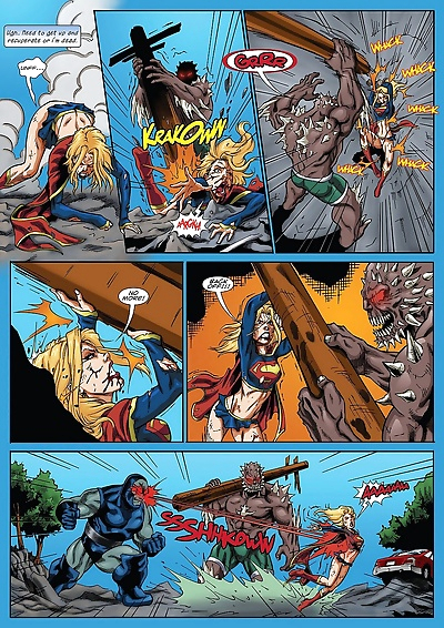 Supergirl's Last Stand