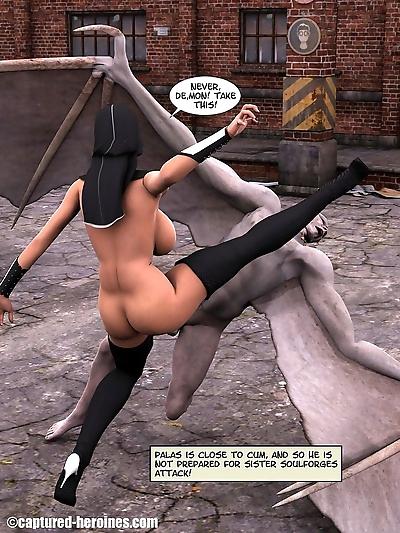 Captured Heroines- Sister..