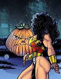 Wonder Woman- Attack of the Great Pumpkin