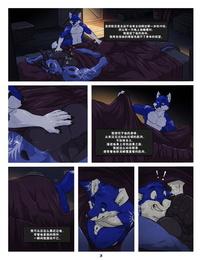 Sonic Fox Black & Blue 2 Chinese Tvirus日曜日漢化